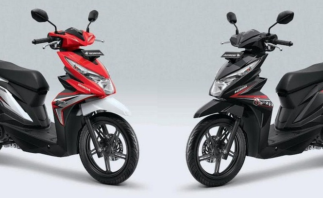 Honda Beat 2018 Warna dan Striping Baru, Harga Naik Jadi Rp 15jutaan