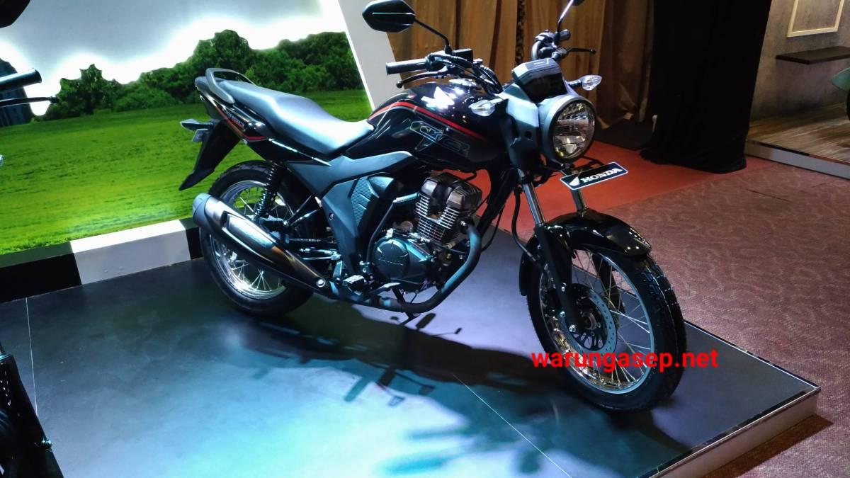 Namanya Honda CB150 Verza Resmi Dirilis. Lampunya Bulat.. Harga Rp. 19jutaan