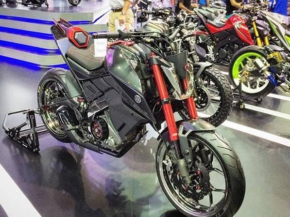 Yamaha Hyper Slaz Concept, Apakah Ini Sosok Yamaha Xabre Facelift???