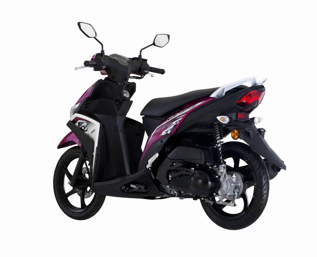 Yamaha Ego Solariz 2018 Mio M3 Nya Malaysia Ada Warna Ungu Dan Pink