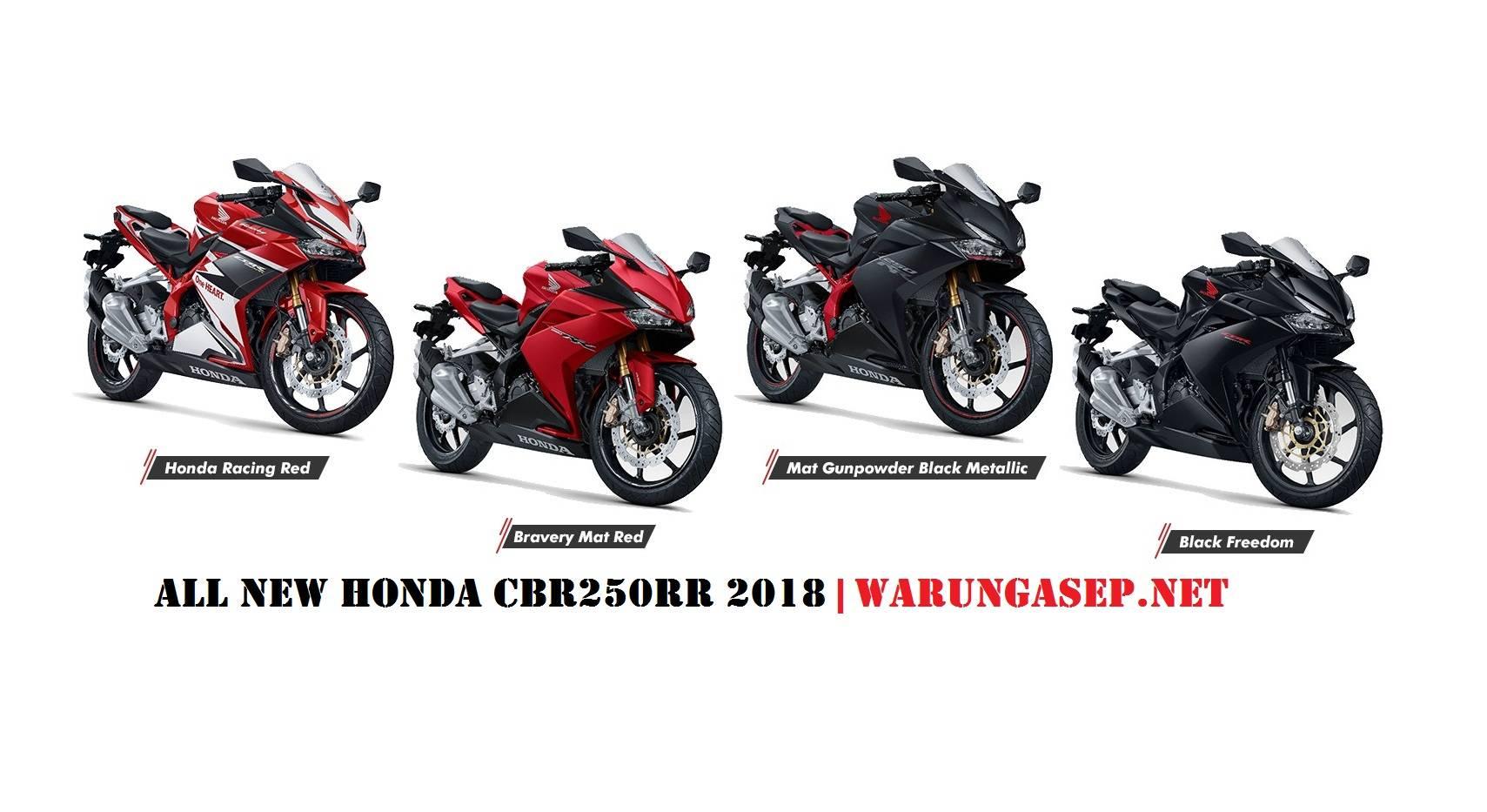 Foto Studio Honda Cbr250rr 2018 Ada 4 Pilihan Warna Dan 5 Varian