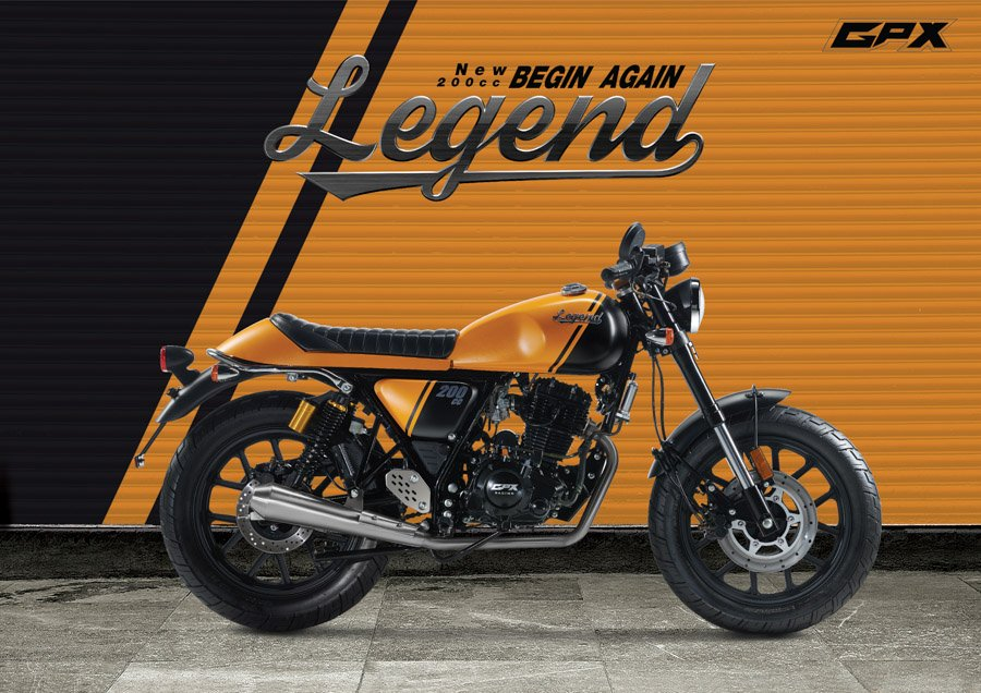 GPX Legend 200 MY 2018, Motor Cafe Racer 200cc Harga Rp