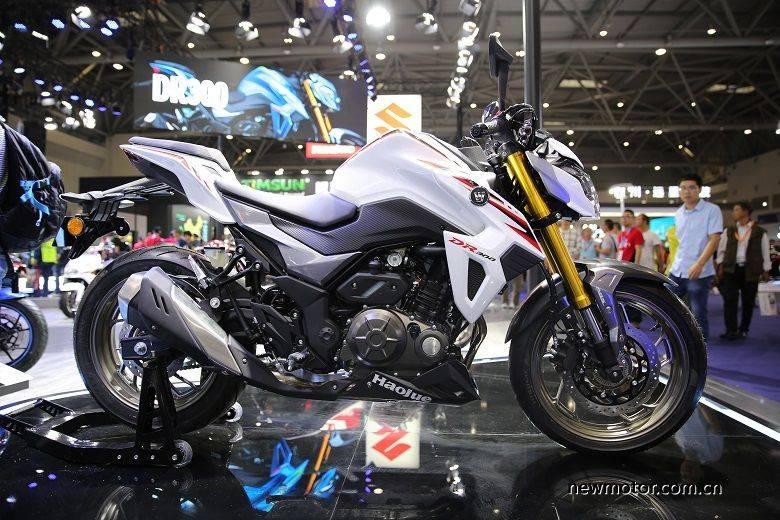 suzuki dr300 putih