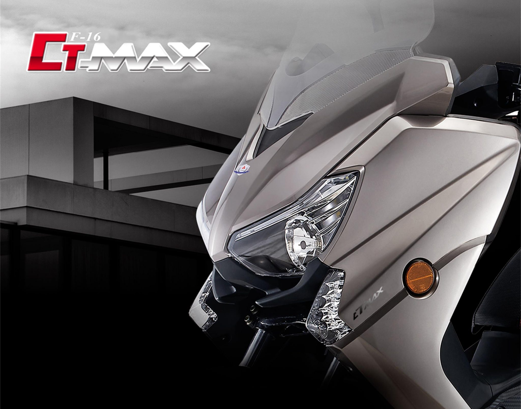 Taro CT Max 125cc Xmax kawe 3