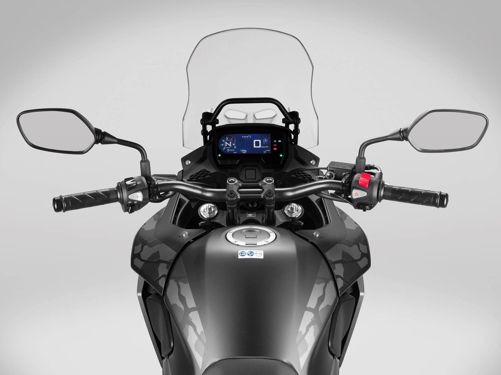 Honda CB500X 2019 speedo