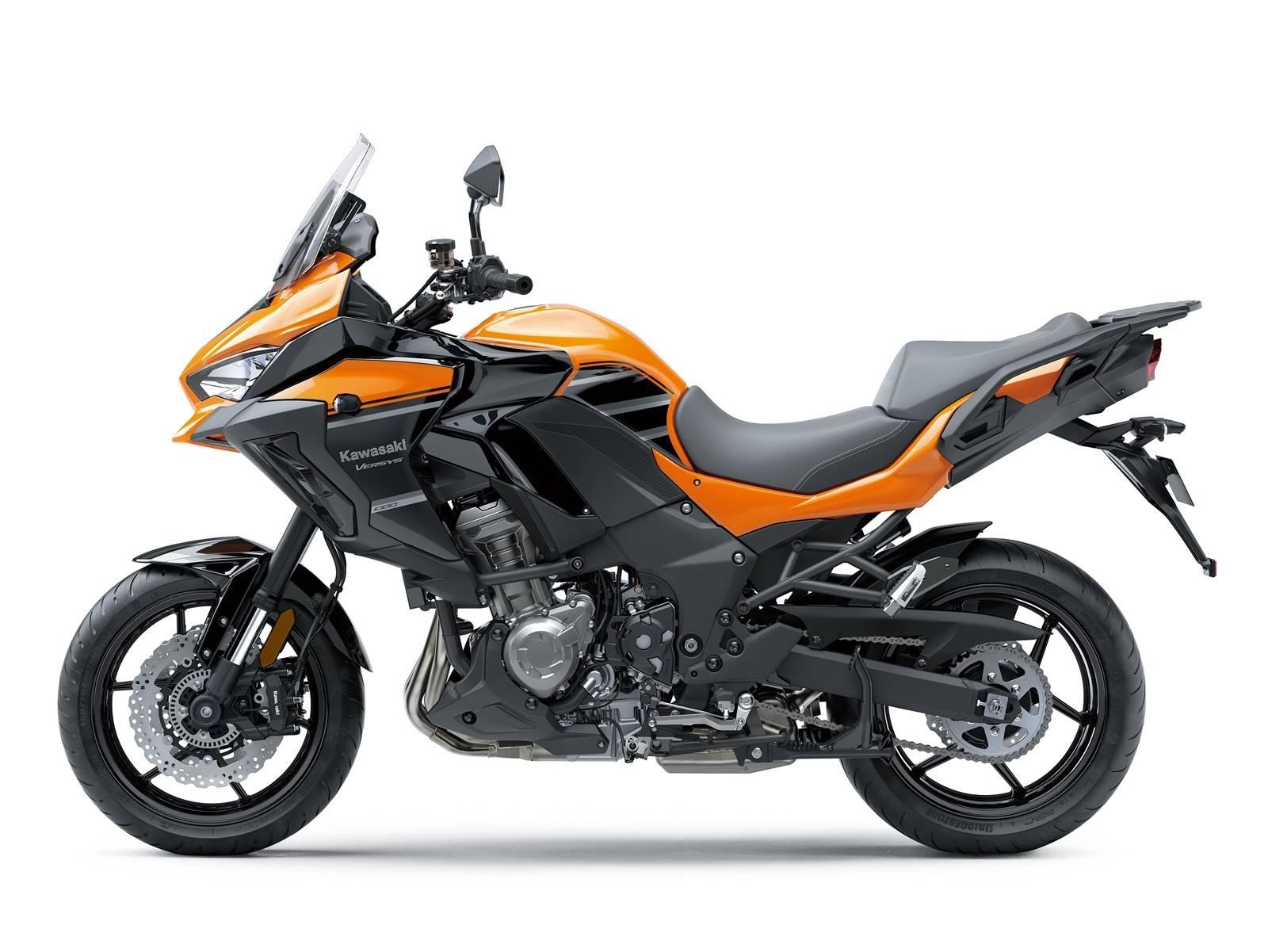 versys 1000 2019 orange