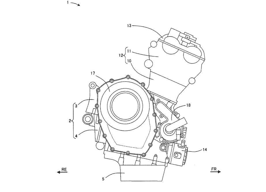 patent gsx-r250 engine