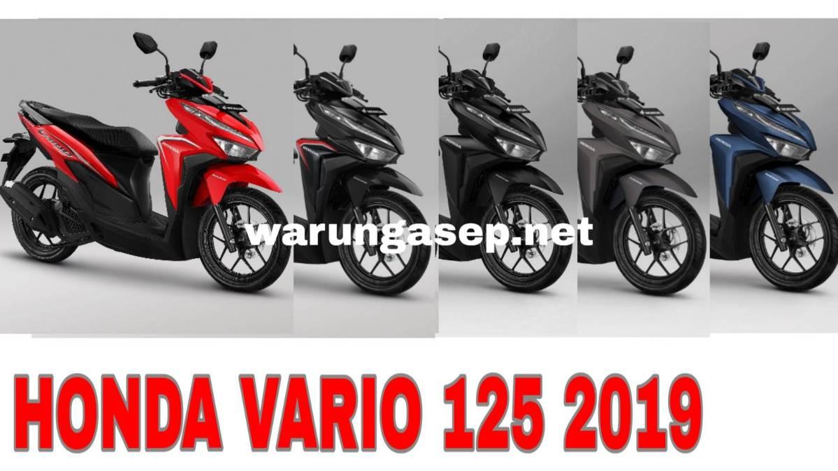 Harga Honda Vario 125 Esp Review Spesifikasi Gambar Maret 2020