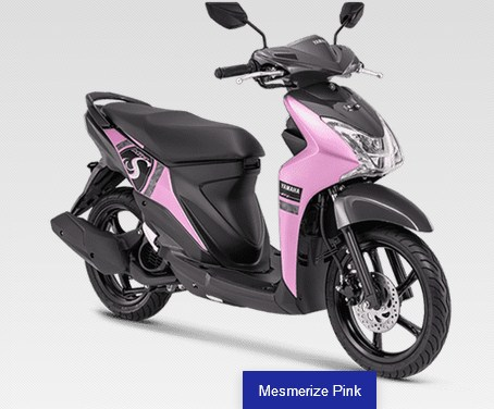 yamaha mio s 2019 pink