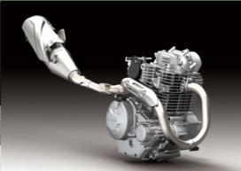 klx230 2019 mesin