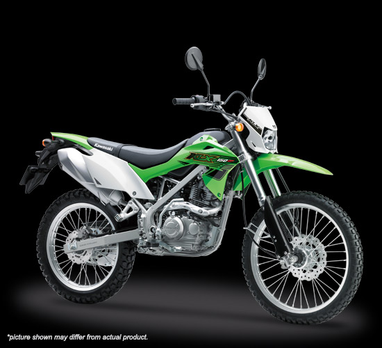 kawasaki klx150 2019 bf std hijau