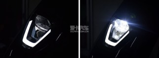 honda v-go 2019 lampu