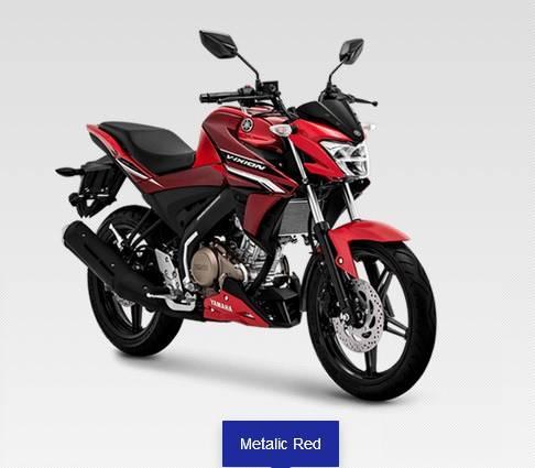 new vixion 2020 merah
