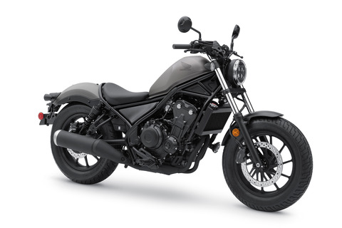 honda rebel 500 2020 gray