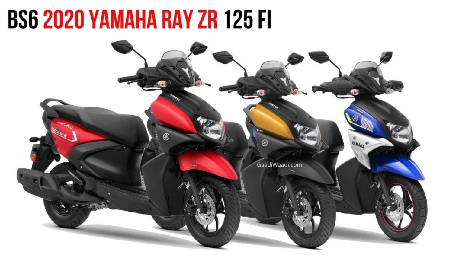 Yamaha Ray Zr 125 2020 Rilis Di India Mirip X Ride Tersengat