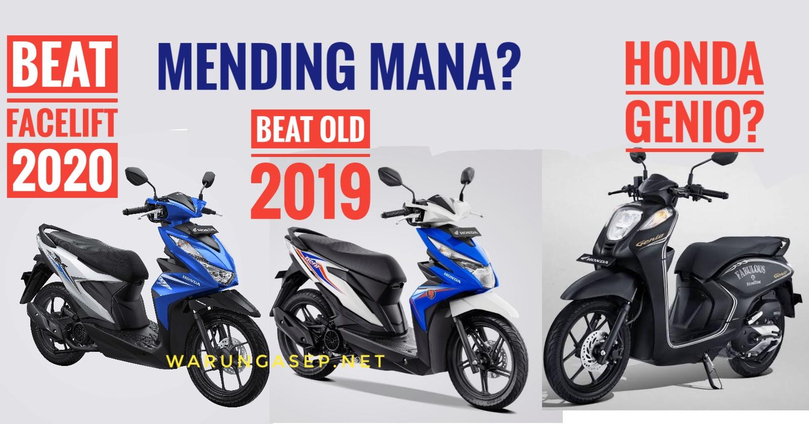 Honda beat street nampak berbeda di antara keluarganya. Beat 2020.jpeg - WARUNGASEP