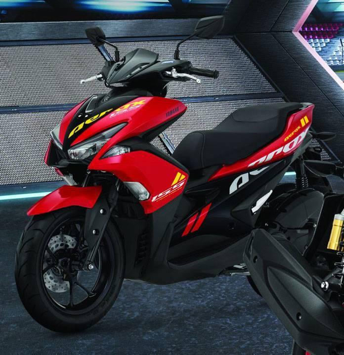 Yamaha Aerox 2020 Belum Facelift Cuma Ganti Warna Yang Merah