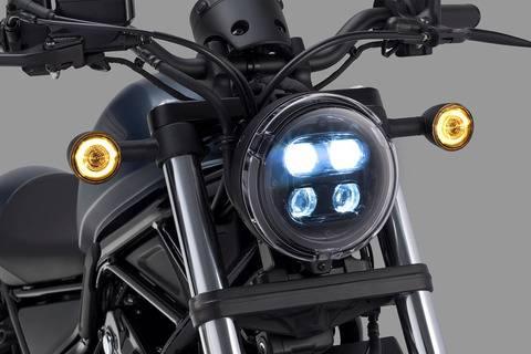 honda rebel 250 2020 lampu