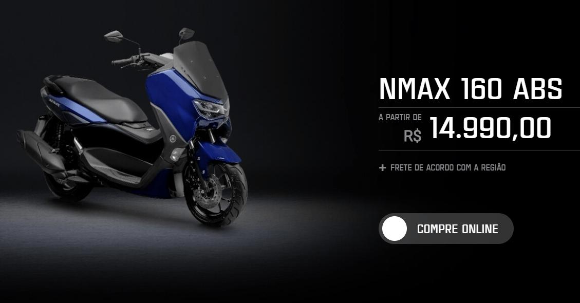 Yamaha Nmax 160 2021 harga