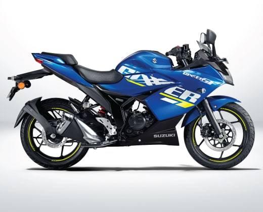 suzuki gixxer 2021 biru