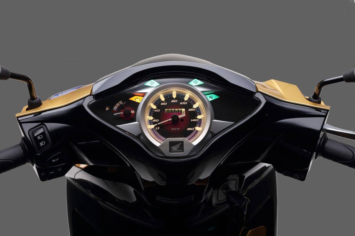 Honda Wave 125 2021 Malaysia speedo