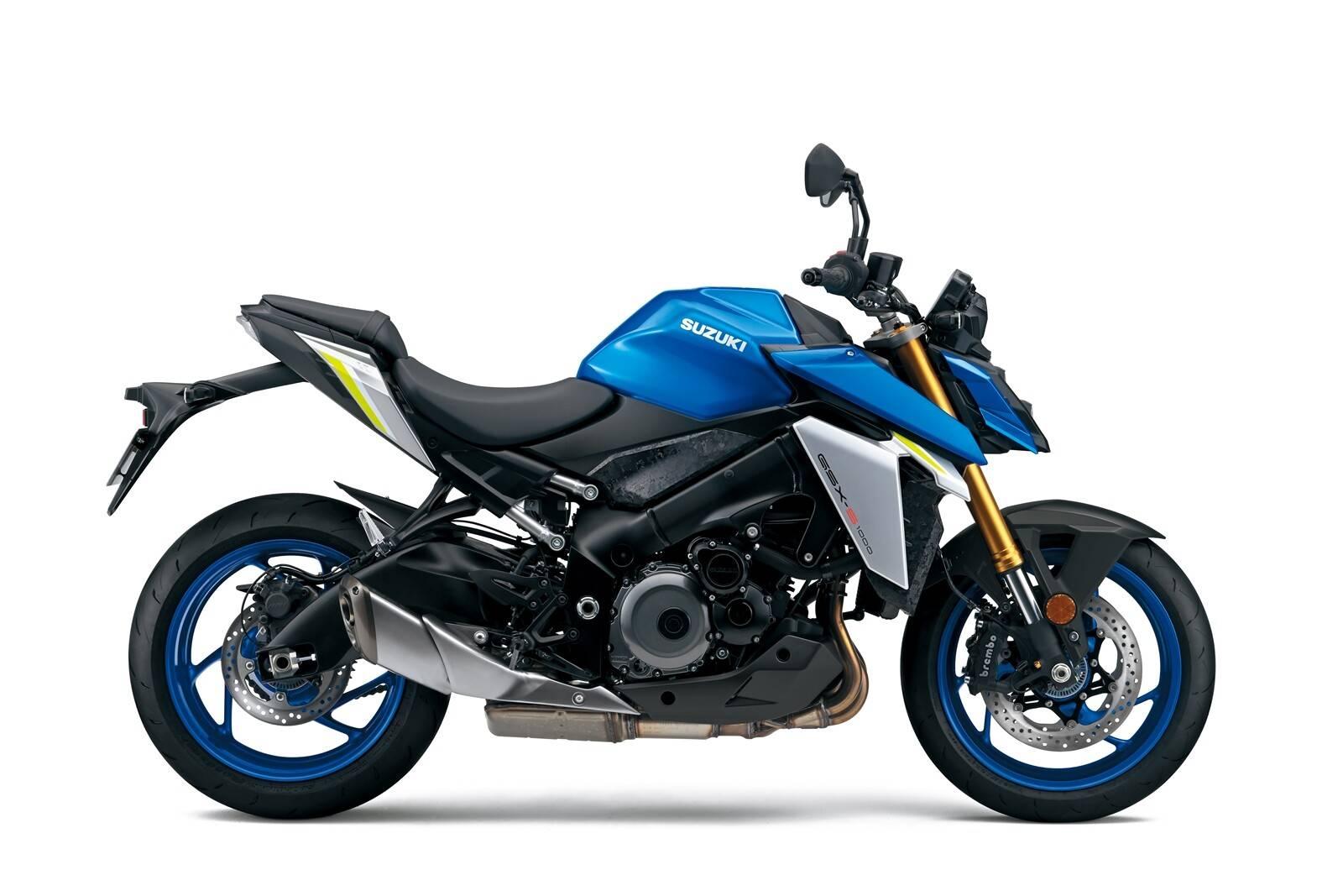Suzuki GSX-S1000 2021 biru