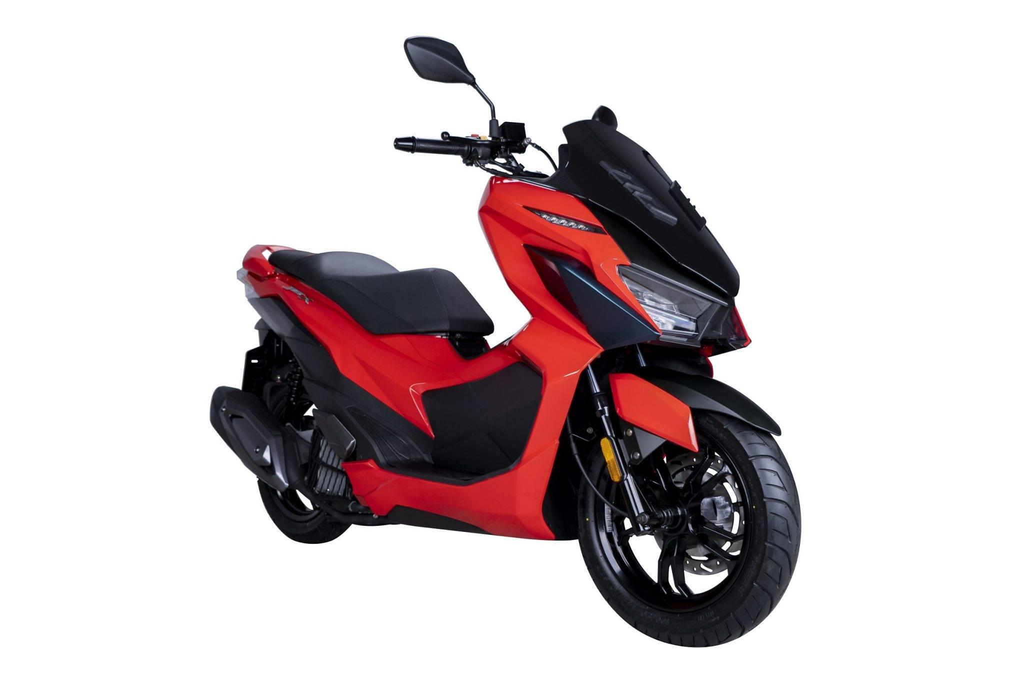 SYM JET-X 150 2021 Malaysia merah