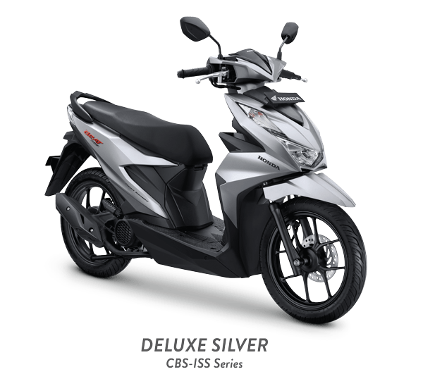 Honda Beat 2021 DELUXE SILVER