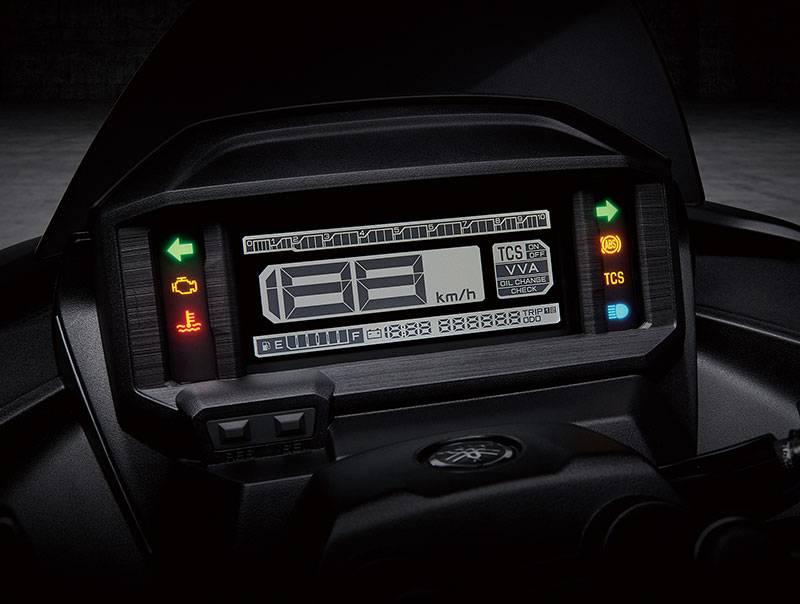 Yamaha Force 2.0 2022 warungasepnet speedo