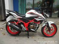 Honda New CB150R Spesial Edition Speedy White (2)