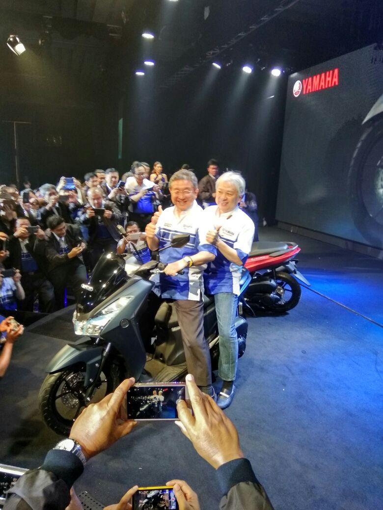 Kejutan YIMM Kenalkan Yamaha Lexi 125 2018  WARUNGBIKERCOM
