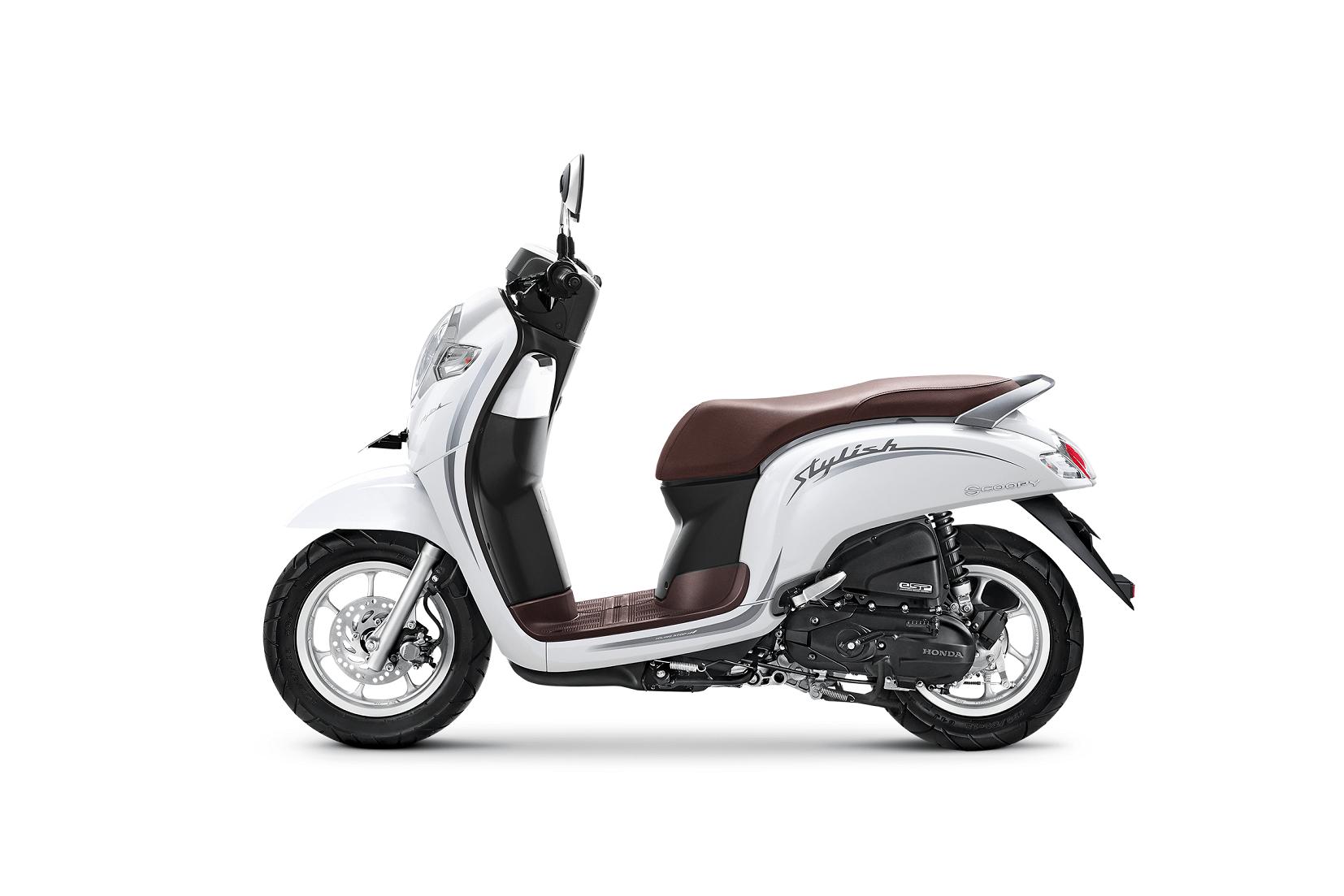 AHM Rilis Warna Baru New Honda Scoopy eSP 2019