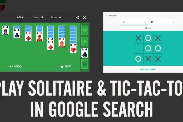 Cara Bermain Tic-tac-toe dan Solitaire di Google Search