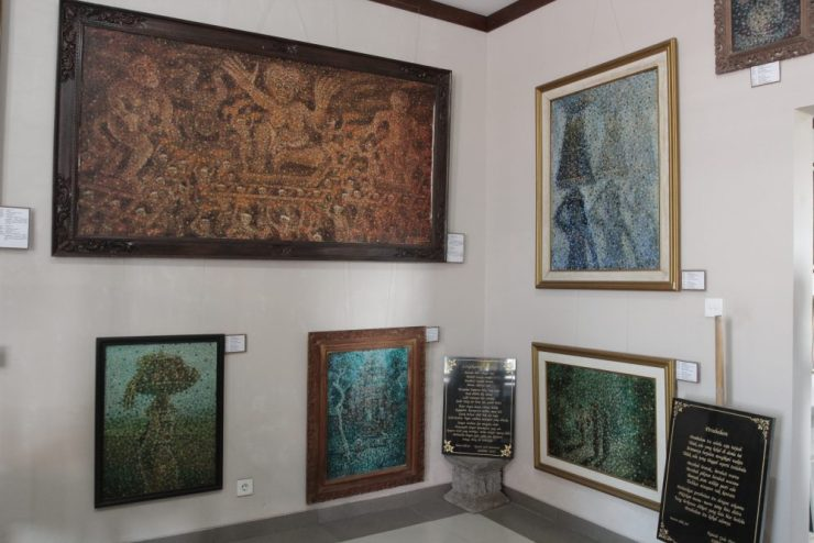 koleksi lukisan sidik jari