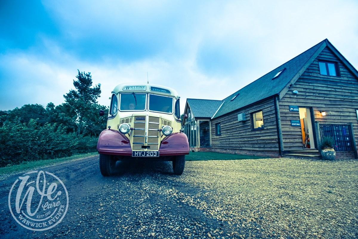 Vintage Bus for Guest Transport