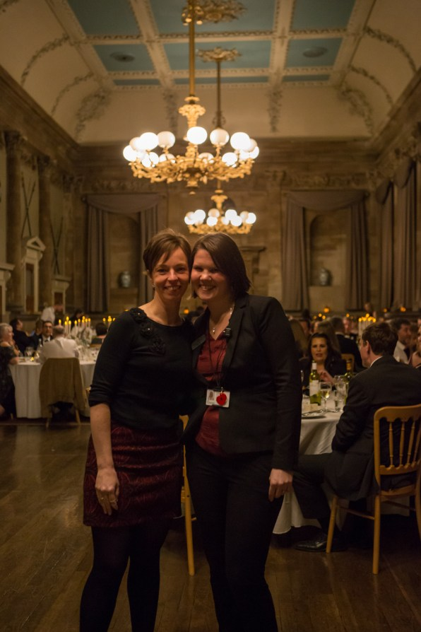 Event Managers and Staff at Formal Dinner at Old Shire Hall