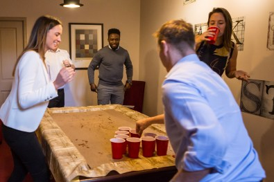 Beer Pong Team Activity Fun Game