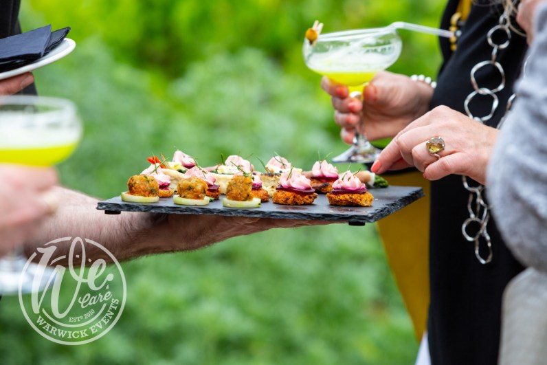 Bardtanicals VIP Cocktail Event Canapes Warwick Events