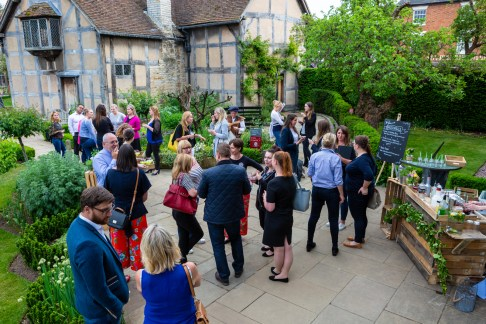 Bardtanicals VIP Exclusive Cocktails Shakespeare Birthplace