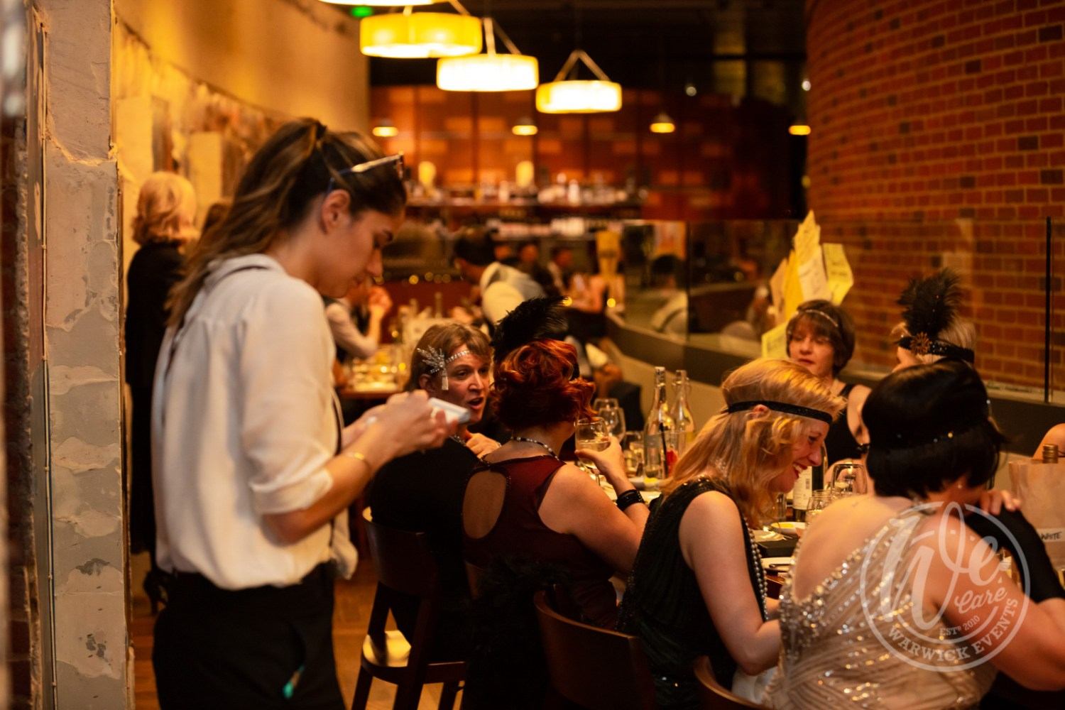 1920s speakeasy prohibition christmas party event rsc