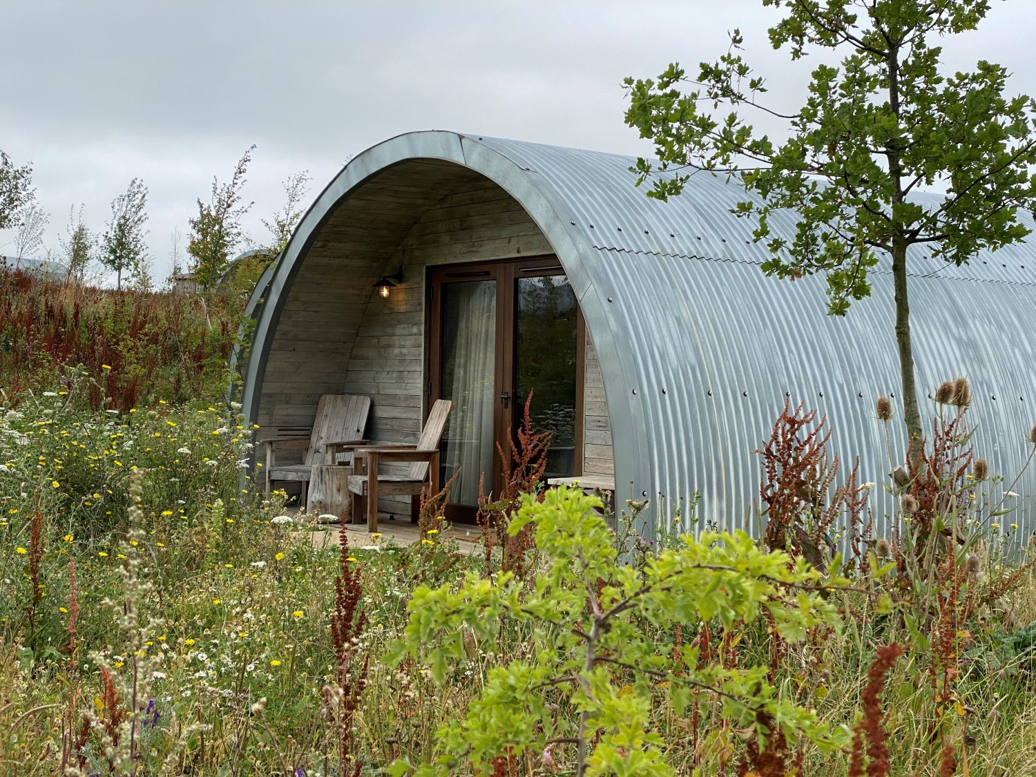 Pigsty accommodation at Soho Farmhouse
