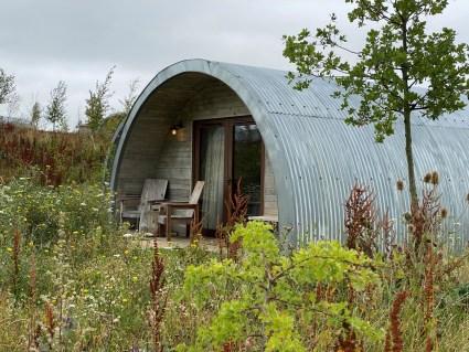 Pigsty accommodation at Soho Farmhouse