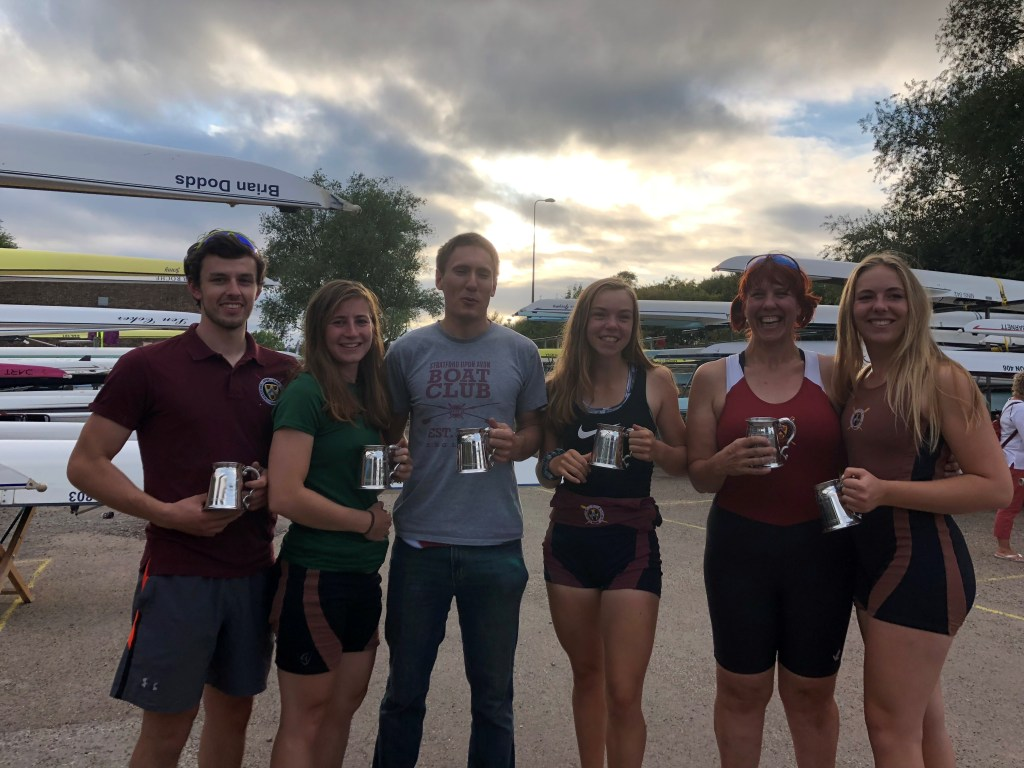 SuABC junior, senior and master winners at Oxford Regatta