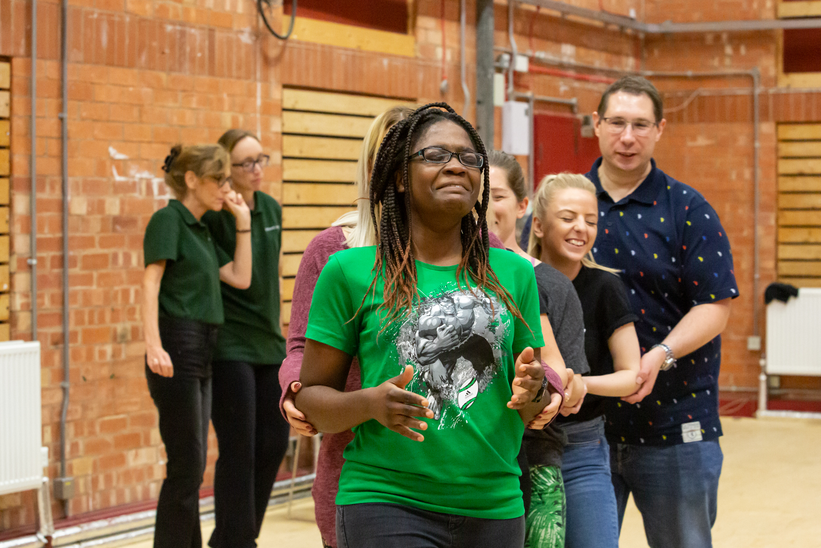 develop trust and communication with our stage combat team building experience
