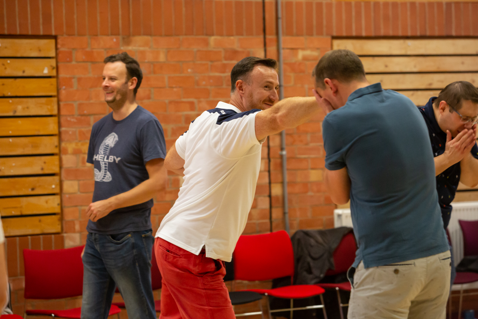learn acting skills with our stage combat team building experience