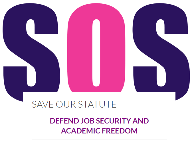 Warwick UCU, the academic staff union, have launched a campaign to stop the reforms to Statute 24.