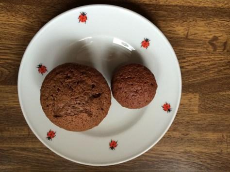 Schokolade-Rum Muffins