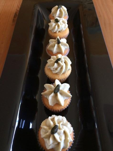 Mandarinen Pistazien Mini Cupcakes