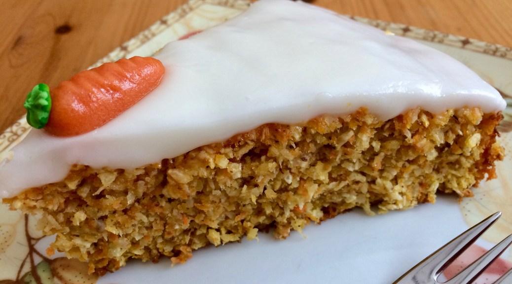 Gelbe Rüben-Kokos Kuchen