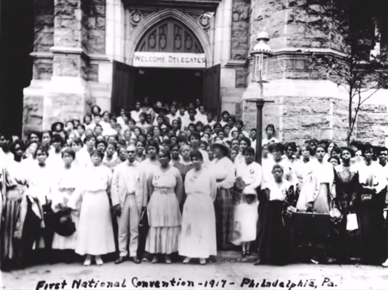 first national convention Madam C. J. Walker